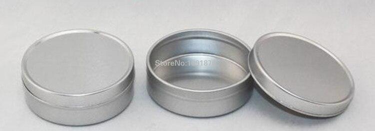 Envío Gratis frascos de aluminio de 50g con tapa deslizante, latas de aluminio de 50 ml con tapa deslizante para cosméticos-in Botellas rellenables from Belleza y salud on AliExpress - 11.11_Double 11_Singles' Day 1