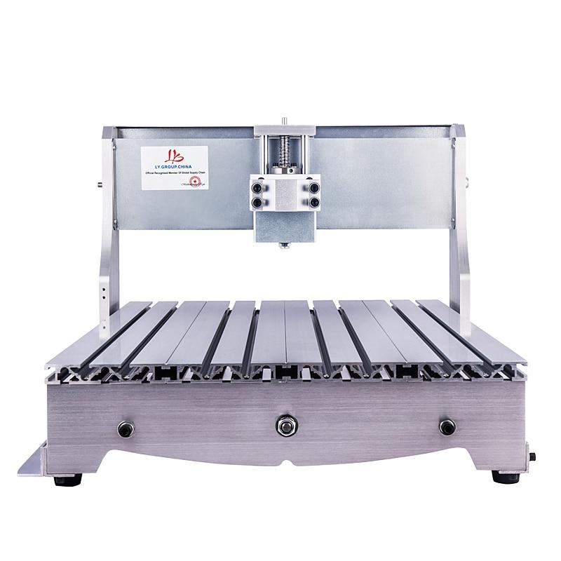 Mini CNC Router 6040 DIY Graveringsmaskin Ram 1605 Kulskruv 52MM 65MM 80MM Spindelmotorklem