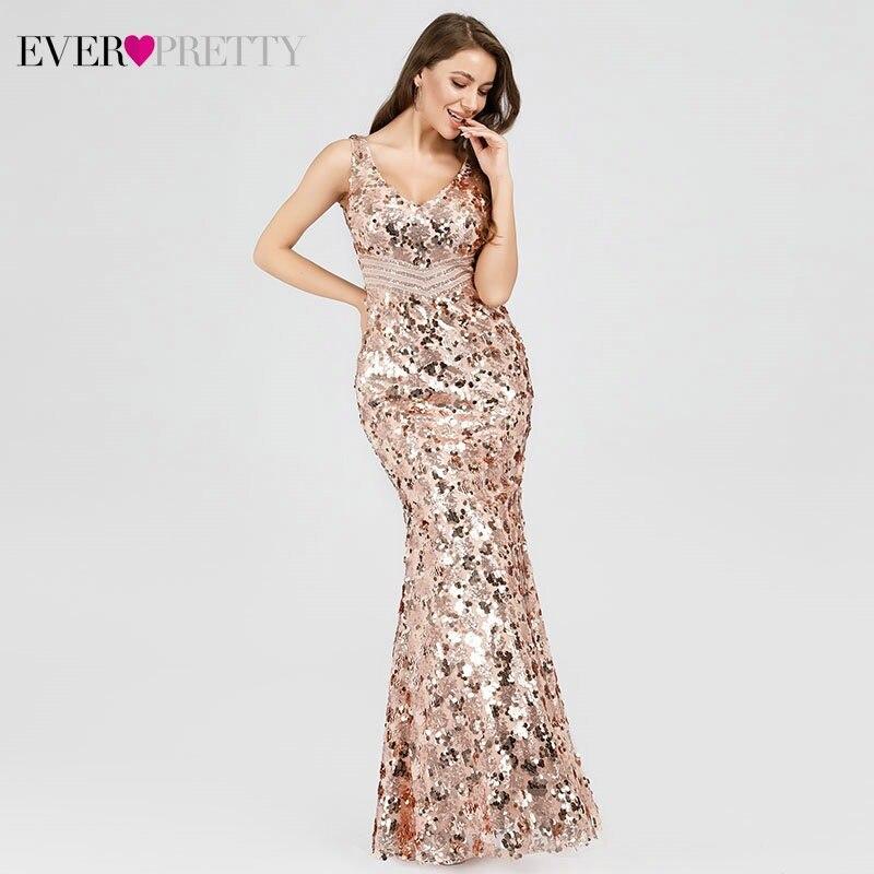 cdc000395de2e Hot Sale] YIDINGZS 2019 Sexy V neck Tassel Sequin Sleeveless Evening ...