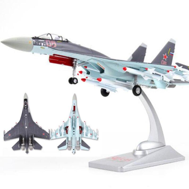 1/72 scala Unione Sovietica Navy Army Su35 aerei da combattimento Russia modelli di aerei per adulti bambini giocattoli per la visualizzazione mostra collezioni-in Macchinine in metallo e veicoli giocattolo da Giocattoli e hobby su  Gruppo 1