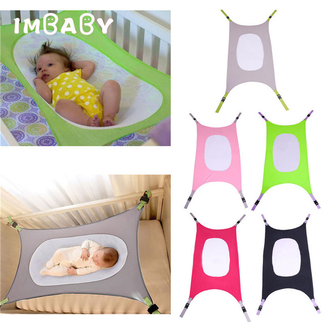 IMBABY bebé seguridad hamaca columpio cama infantil cama de dormir desmontable portátil plegable bebé gorila cuna infantil para regalo de recién nacido