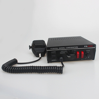 Police Siren 100W 12V Car Siren Horn PA300 Car Host PA System With Microphone Loud Electronic