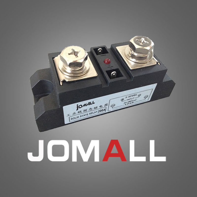 100A Industrial SSR Single-phase Solid State Relay 100A Input 3-32VDC Output 24-680AC normally open single phase solid state relay ssr mgr 1 d48120 120a control dc ac 24 480v