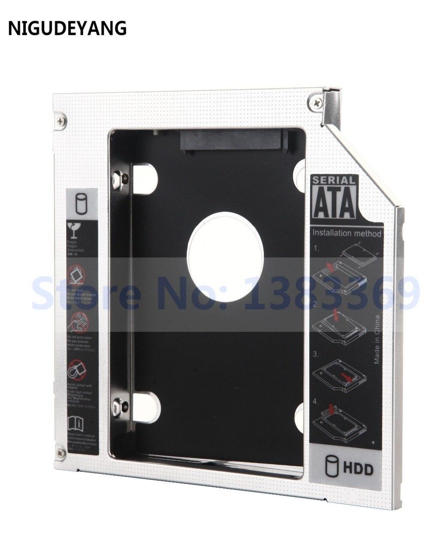 Begeistert Nigudeyang 2nd Festplatte Hd Hdd Ssd Caddy Rahmen Adapter Für Sager Np8130 Np9370 Ts-l633f Heller Glanz