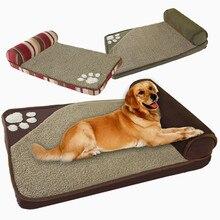 2019 товары для собак Дом Диван Питомник квадратный Подушка Хаски Лабрадор Тедди большие собаки кошка дом кровати коврик тонкая радость собака кровати для больших