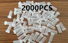 Conector SC LC FC ST tapas de polvo 2000 Uds cable de parche de fibra tapas de polvo conector adaptador