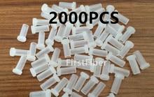 SC LC FC ST מחבר אבק caps 2000PCS סיבי תיקון כבל אבק caps מחבר מתאם
