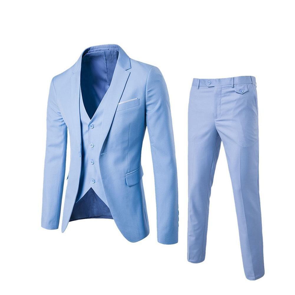 3pcs/suit Herringbone Retro Gentleman Style Custom Made Men's Suits Tailor Suit Blazer Wedding Suits for Men (Jacket+Pants+Vest)