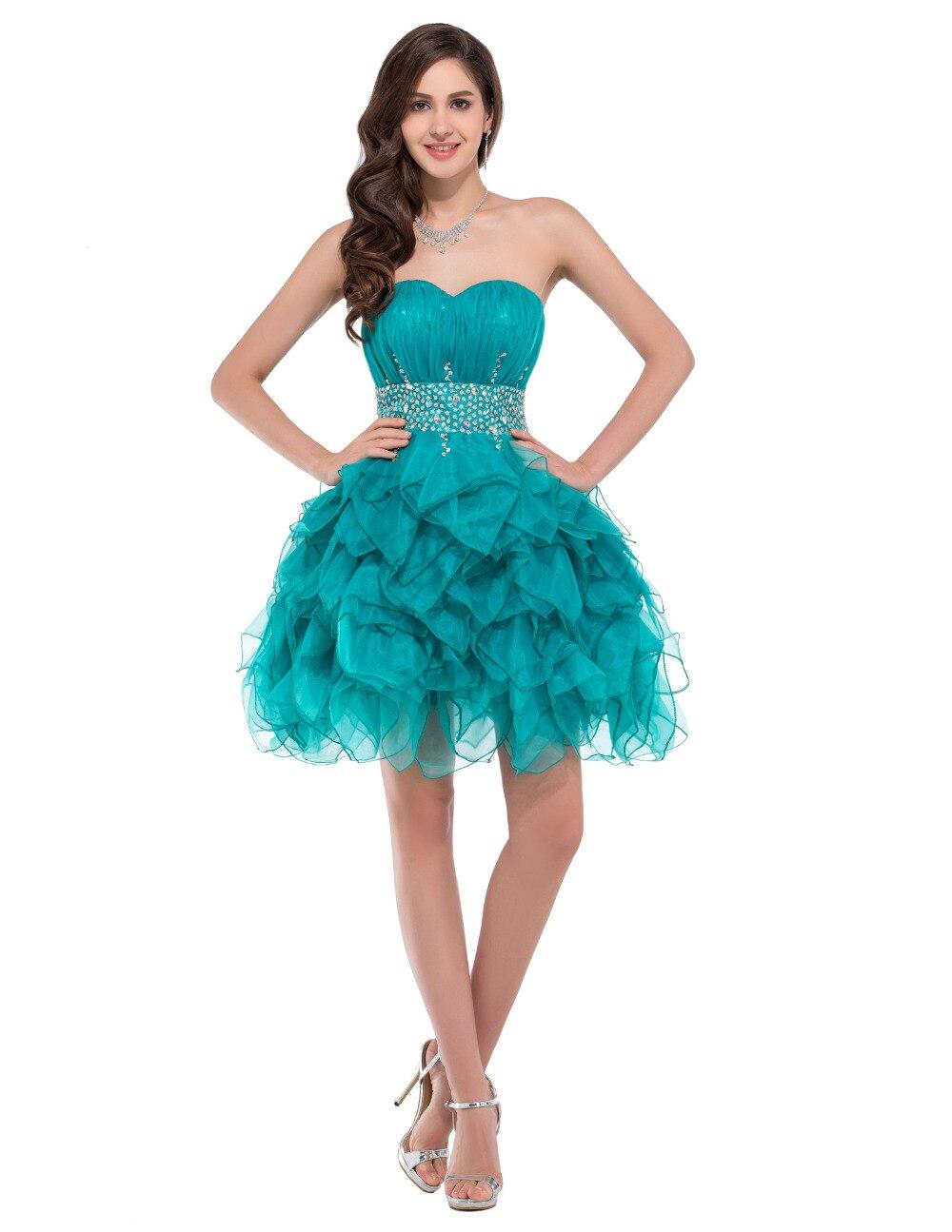 Popular Short Turquoise Prom Dresses Buy Cheap Short