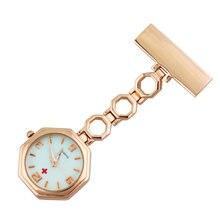 Часы с клипсой на цепочке японские кварцевые Подвесные часы