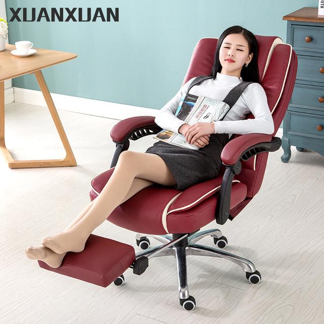 Alta qualidade da cadeira do escritório com pernas resto