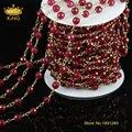 5 м/лот мода розария цепи новый малайзия нефрита бусины брелки / серебристый / цепи ожерелье JD054