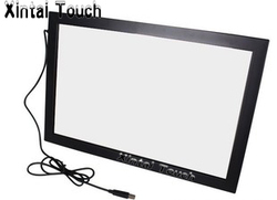 Freies Verschiffen! Xintai Touch 32 zoll USB IR Multi touch screen overlay; 10 punkte Infrarot multi touch screen rahmen für LED TV