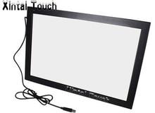 Frete grátis! Xintai touch tela de 32 polegadas usb ir multi touch screen sobreposição; quadro de tela de toque multiuso infravermelho com 10 pontos para a tv led