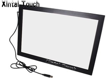 Gratis Verzending! Xintai Touch 32 Inch Usb Ir Multi Touch Screen Overlay; 10 Punten Infrarood Multi Touch Screen Frame Voor Led Tv