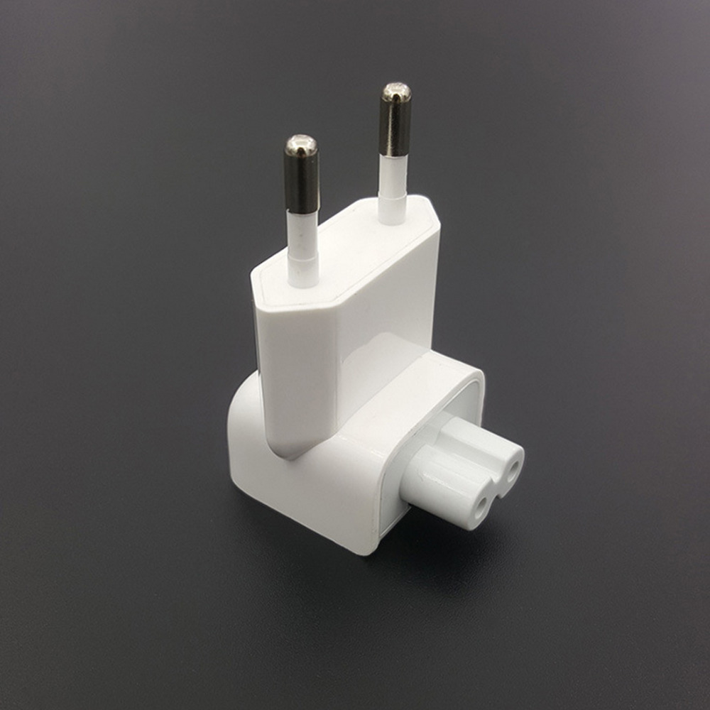 Wall AC Detachable Electrical Euro EU Plug Duck Head For Apple IPad IPhone USB Charger For MacBook Power Adapter