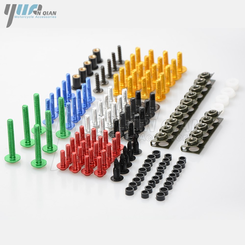 Motorcycle Scooters Fairing Body Work Bolts Nuts Spire Speed Fastener Clips Screw for yamaha YZF R1 R6 Tmax 530 2010 2011-2018