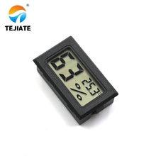 Черный Мини цифровой lcd Измеритель температуры и влажности в помещении термометр гигрометр датчик