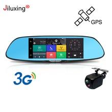 Jiluxing D02S 3G Dash cam 1080P GPS navigation Car camera rearview mirror 7