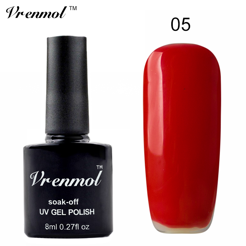 vrenmol vernis semi permanent uv nail gel polish long lasting led nail art lacquer soak. Black Bedroom Furniture Sets. Home Design Ideas
