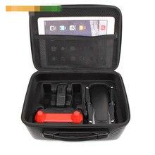 DJI Mavic Air сумка для хранения чехол для Mavic Air drone водостойкий противоударный чемодан из искусственной кожи Сумка транпорт чехол