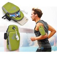 Водонепроницаемый нейлон Универсальный Бег для верховой езды рука спорта чехол мобильный телефон повязку сумка чехол для iPhone 7 7 Plus 8 6 S плюс