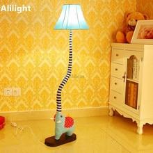 Buy elephant floor lamp and get free shipping on aliexpress hoallme modern creative cartoon elephant proboscis floor lamp living room light mozeypictures Image collections