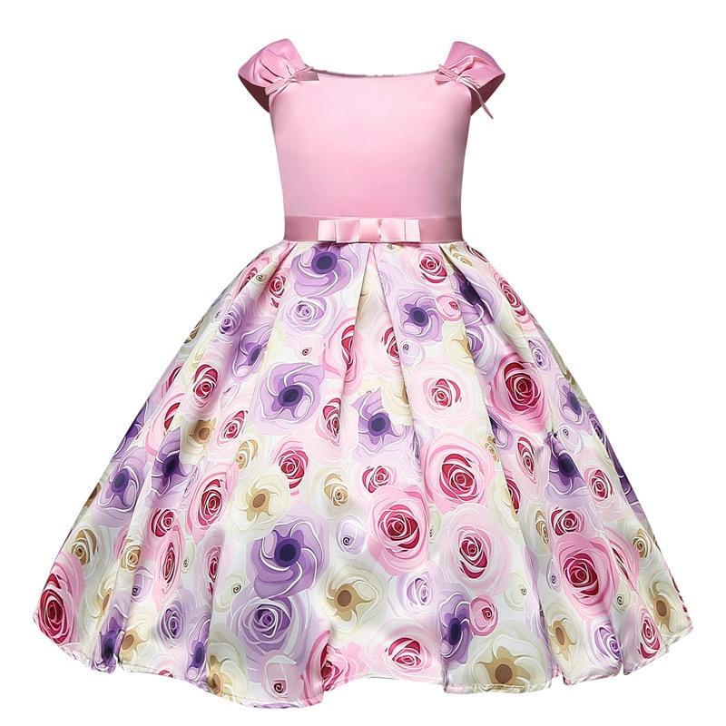 Princess Costume For Little Girls Elegant Pink Birthday