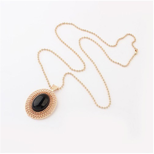 Korean all-match fashion hollow necklaces, sweater chain+ FREE SHIPPING#97742#D16