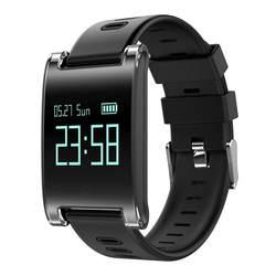 DM68 умный Браслет кровяное давление пульсометр Мужчины Женщины Bluetooth браслет напоминание фитнес-трекер для Android IOS