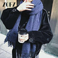2016 from india scarf luxury brand For women all-match cashmere knitted scarf fringed new autumn winter scarf/cachecol/echarpe