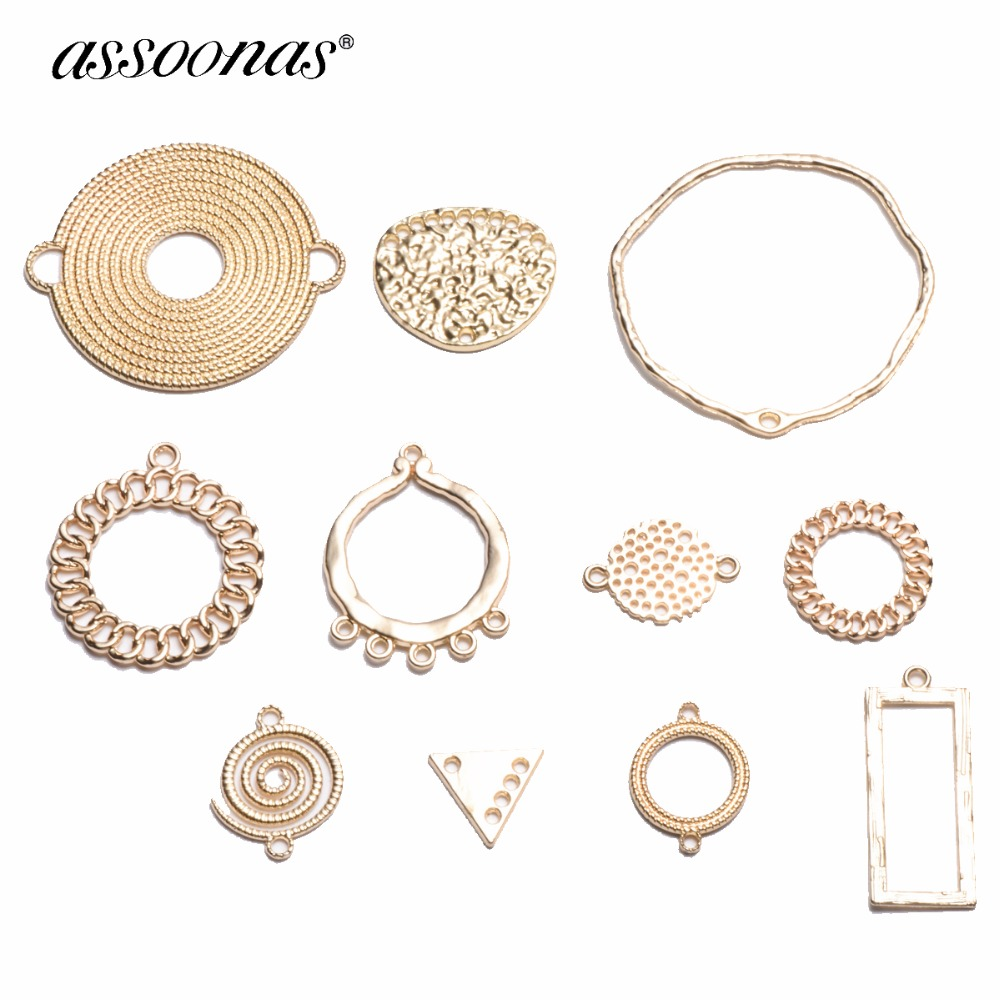 Collection Here Zinc Alloy Pendant Jewelry Accessories Diy Handmade Material Charms Double Orifice Connection Of 10 X 25 Mm Beads & Jewelry Making Back To Search Resultsjewelry & Accessories