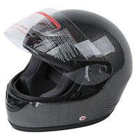 New Adult Carbon Fiber Flip Up Full Face Motorcycle Helmet Street Bike S XXL