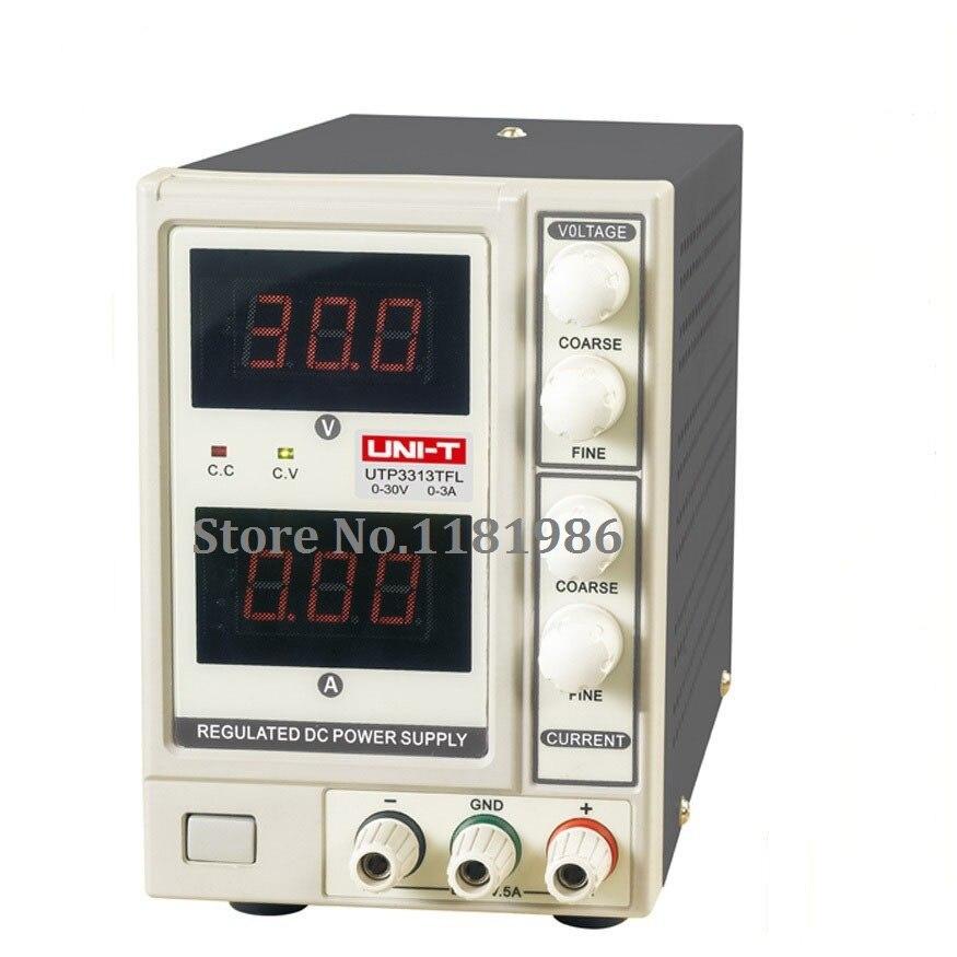 UNI-T UTP3313TFL DC Power Supply Limitation Output Voltage Current 0~30V 0~3A Power Source dc power supply uni trend utp3704 i ii iii lines 0 32v dc power supply