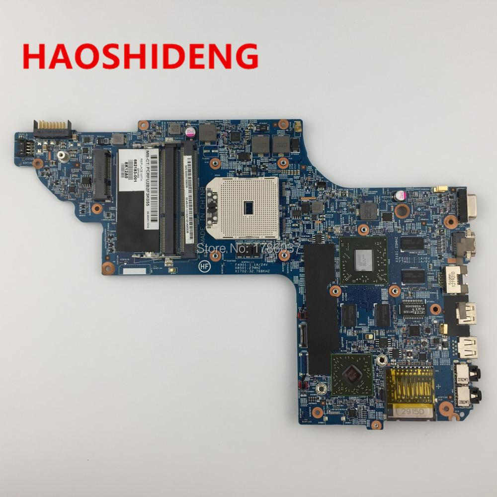 682183-001 682183-501 for HP Pavilion DV6 DV6T DV6-7000 series motherboard with A70M 7730/2G.All functions fully Tested! 712082 001 710988 501 710988 001 hm77 635m 2g non intergrated motherboard system board for hp envy dv6 dv6 7000 dv6t