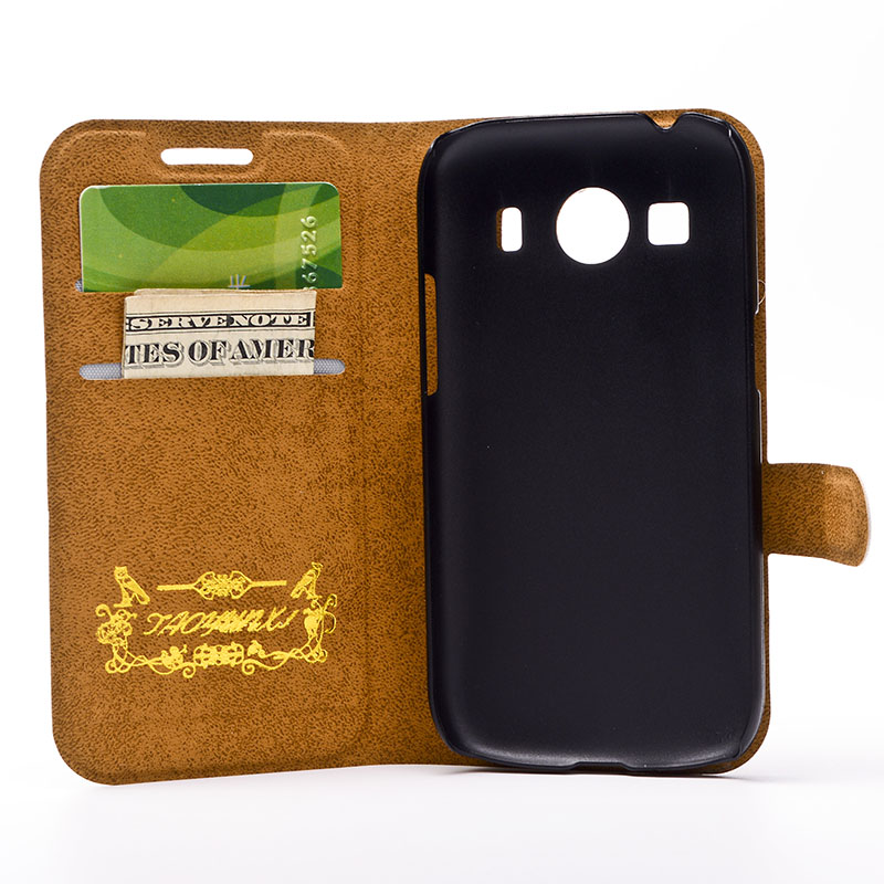 Leather Case Wallet <font><b>Cover</b></font> For <font><b>Samsung</b></font> Galaxy G130H G313 <font><b>G350E</b></font> G357 G360 3608 G386F G530 G7106 G850 i8262 i9082 I8552 G355H Case image