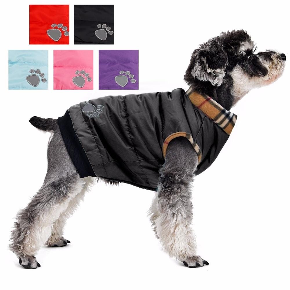 Veshjet me qen për kafshë shtëpiake Stili klasik 6 ngjyra 5 Madhësia e disponueshme për qen të vegjël Meduim të vegjël rastësor të ngrohtë në dimër të vjeshtës së xhaketave të vjeshtës