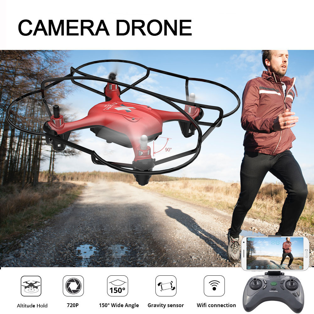 ATOYX HD 4k Camera Drone With Camera FVP WIFI Mini Drone RC QuadcopterWith Wide Angle HD High Headless Altitude Hold Mode 4CH адаптер ф58 flama 0 45x pro hd wide angle с переходным кольцом 52 58
