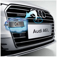 CCD car front view logo web parking camera for Audi A6L waterproof night vision HD