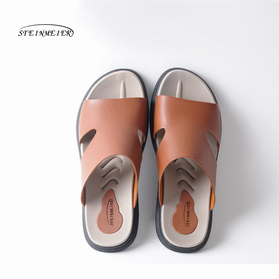 men light casual soft bottom slippers male summer youth fashion outdoor beach sandals 2018 Mans footwear