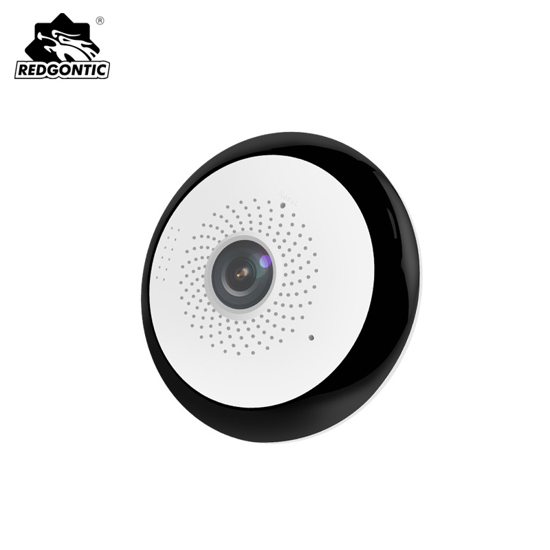цена 10pcs Mini Wireless 360 Ip Camera 1080P VR Panoramic Camera Fisheye Cameras Wifi Security Cctv Video Camera Motion Detection
