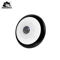 10pcs Mini Wireless 360 Ip Camera 1080P VR Panoramic Camera Fisheye Cameras Wifi Security Cctv Video