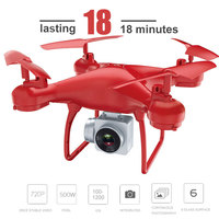 RC Drone 2 4GHz 6 Axis Gyro 3D Flips 500MP Rolling Altitude Hold Headless Mode HD