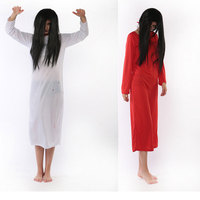 Halloween Ghost Robe For Women Scary Devil Vampire Halloween Costumes Black And Red Vampires Fancy Dress