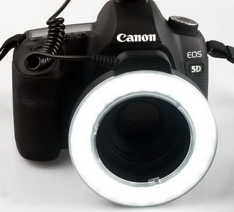 WANSEN WSLED48 makro valgustus 48 LED-videorõnga välklamp Nikon - Kaamera ja foto - Foto 4