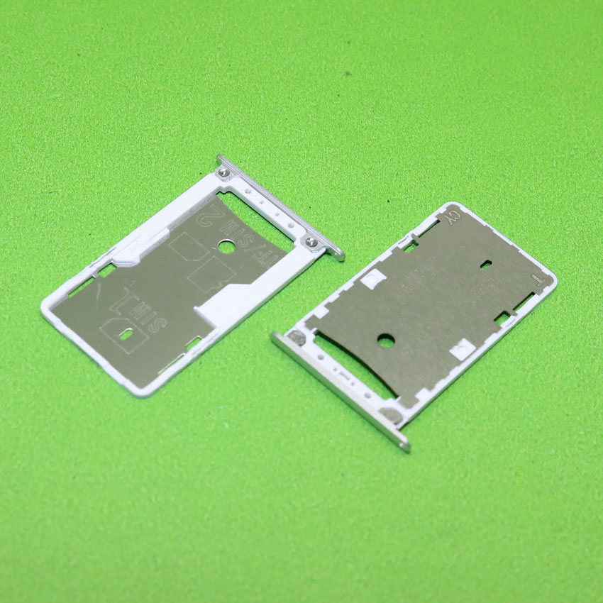 SIM Card Slot Holder for Xiaomi Redmi 3 3S Micro SD Card Slot Tray Socket Adapter Replacement Repair Parts Silver,KA-302