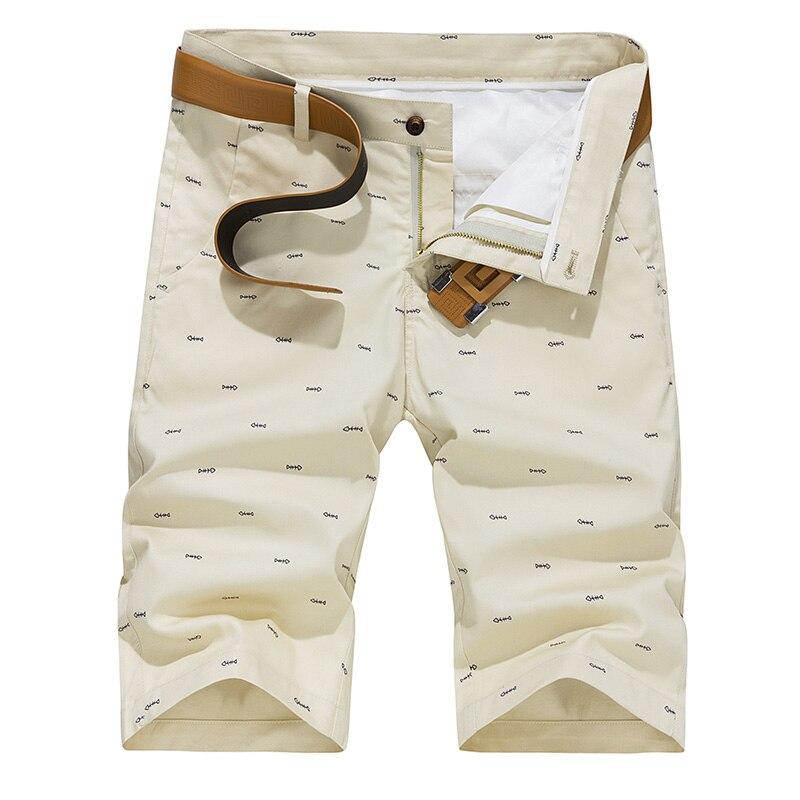 Calções Masculinos Respirável Shorts Bermuda Masculina Plus Size Verão Dos Homens Shorts de Algodão Casuais Homens Slim Fit Sólida Na Altura Do Joelho zip