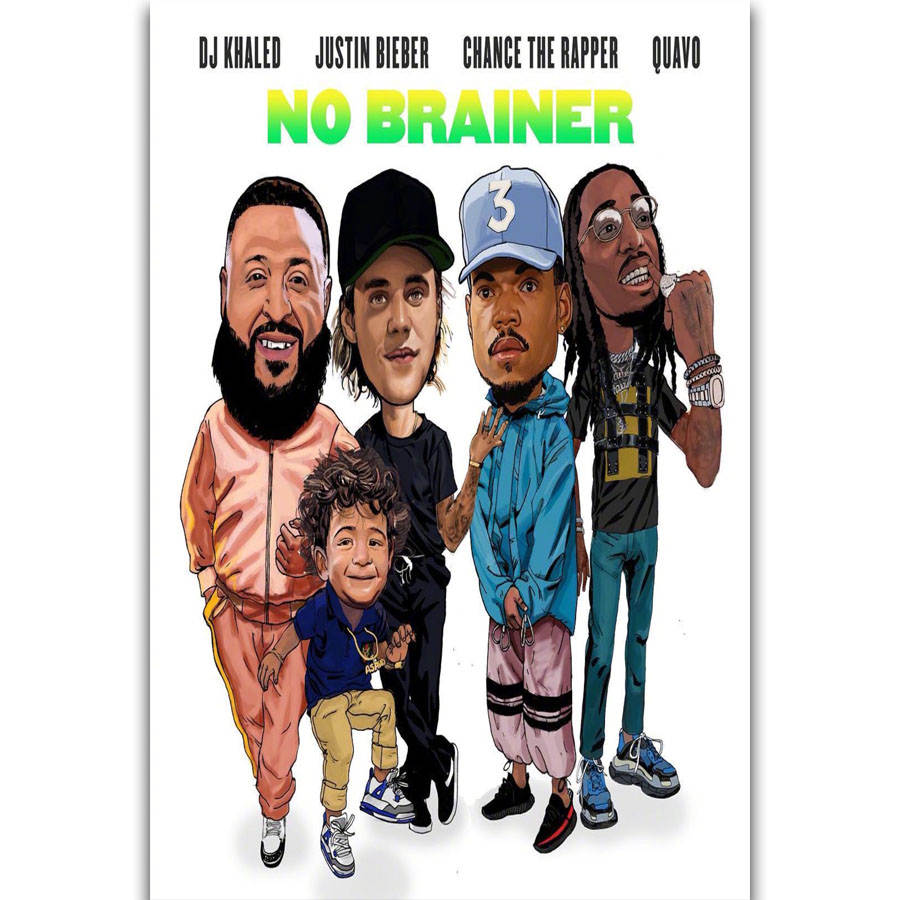 S2748 Album Cover Dj Khaled Justin Bieber Chance The