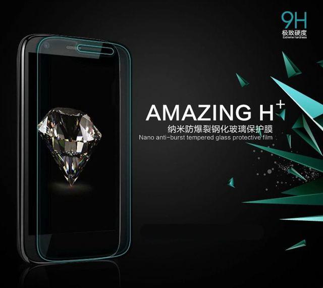 Amazing Tempered Glass Film 0.3mm Screen Film Case For Lenovo Motorola MOTO G G2 G3 G4 Plus E X X2 Play Style