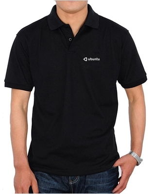 3 colours summer it fans Ubuntu LINUX open source system collar men's short sleeve POLO shirts high quality Customized shirt